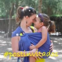 Mi colgona y yo… o de cómo el porteo llegó a mi vida #postinvitados