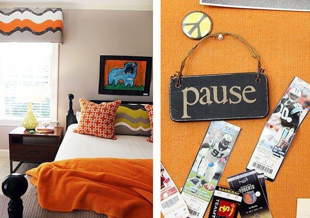 decoracao-de-casa-na-cor-laranja