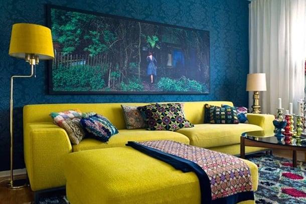 decorar-sala-amarelo