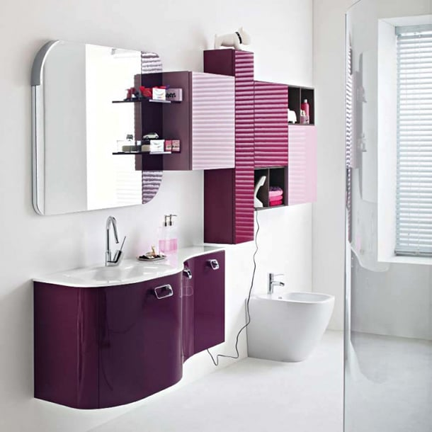 decoracao-roxa-banheiro