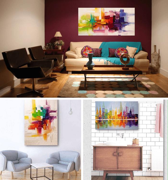 decoracao-de-parede-quadros