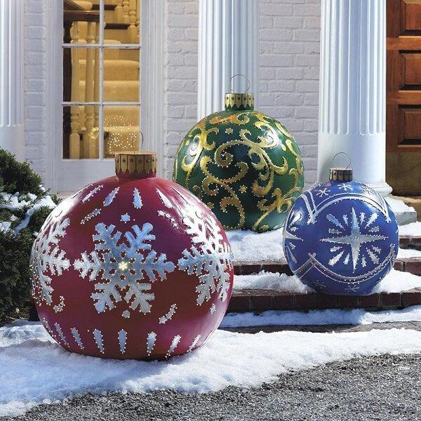 decoração de Natal nas fachadas