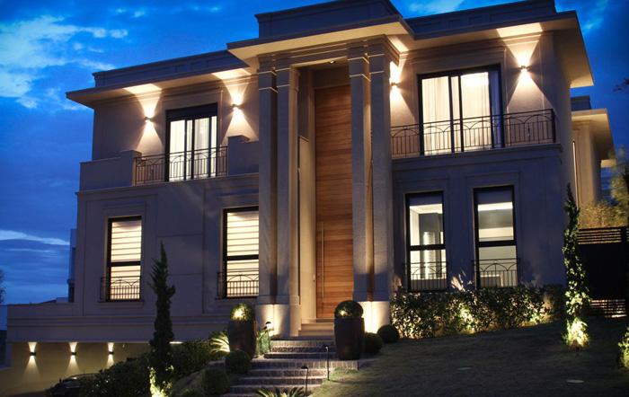 estilos diferentes para arquitetura de mansões classico