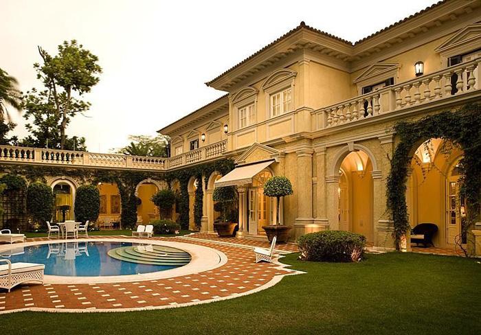estilos diferentes para arquitetura de mansões antigo