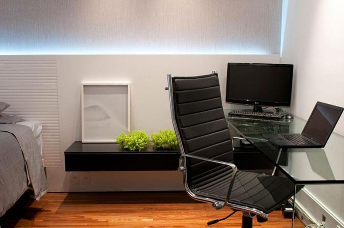 projetos diferentes para o home office preto
