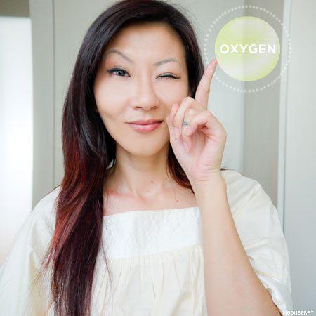 Singapore's Hottest Celebrity Blogger | Oxygen Bubble Mask