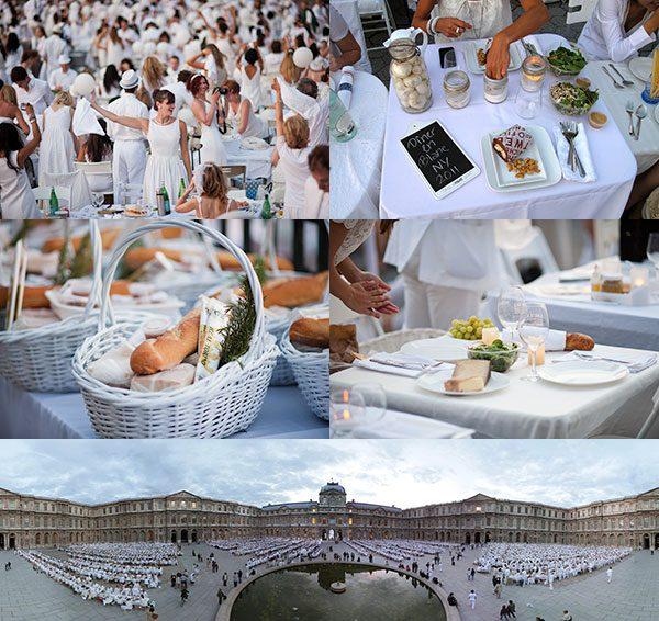 Diner en Blanc | The Moonberry Blog