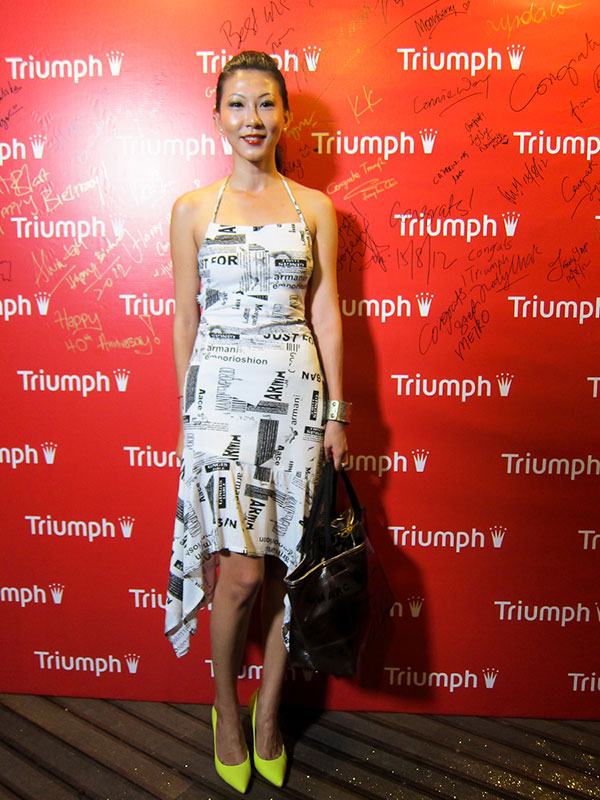 Triumph 40th Anniversary - Autumn Winter 2012 Preview