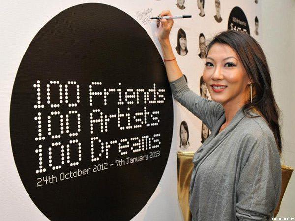 100 Friends 100 Artists 100 Dreams