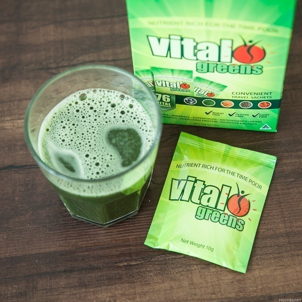 Singapore Lifestyle Blog Moonberry Vital Greens