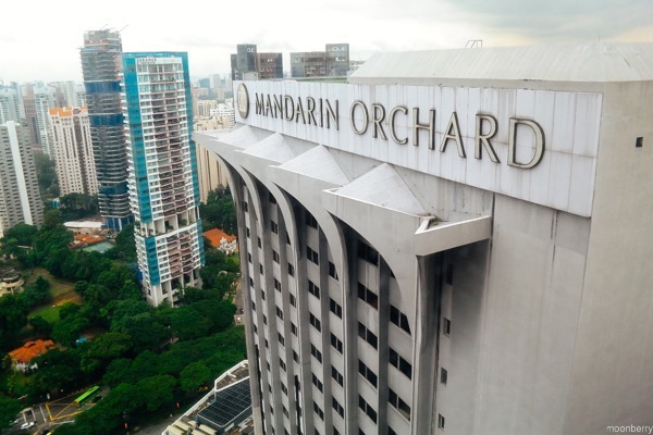 Mandarin Orchard Singapore Meritus Club Lounge