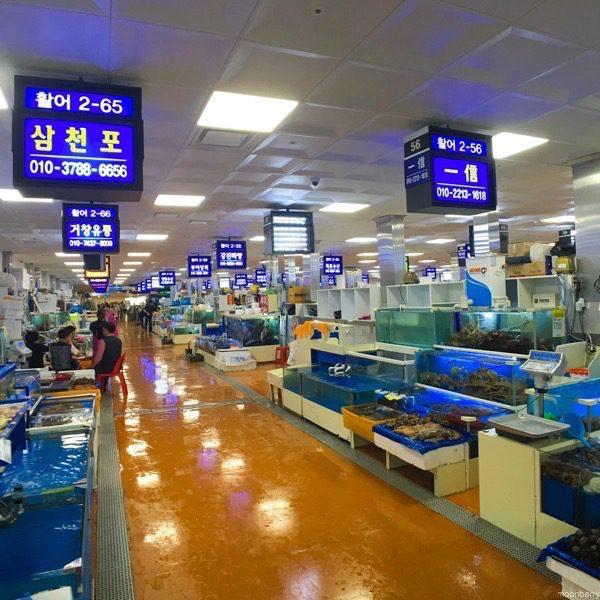 Noryangjin Fish Market in Seoul