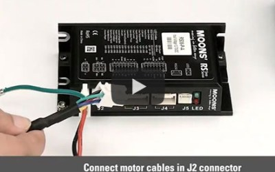 MOONS' RS Series Step-Servo System Wiring Introduction