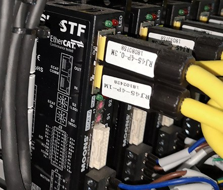 STF Field-bus Control Stepper Drives from MOONS' Industries