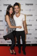 ישראל אטיאס ובת הזוג נעמי- צילום רפי דלויה