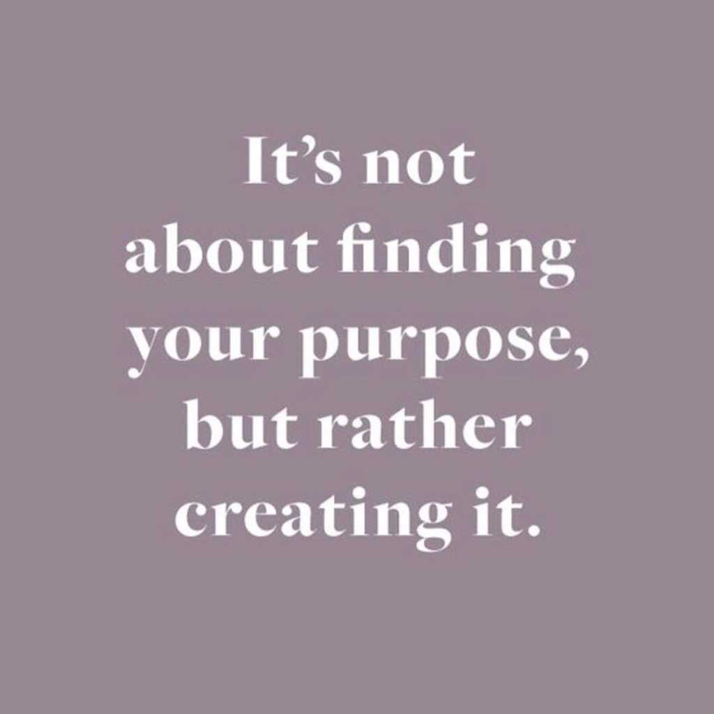 Some evening motivation Create your purpose inspirationalquotes