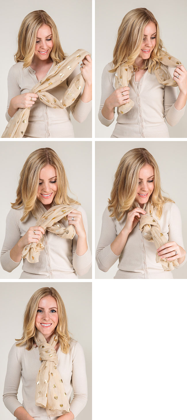 How To Tie A Scarf 9 Ways Cute Fashionable Clothes For Women The Doublewrap Double Windsor Knot