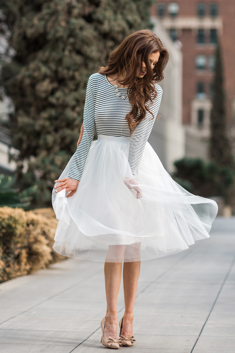 morning lavender cute tulle skirts for women - 100