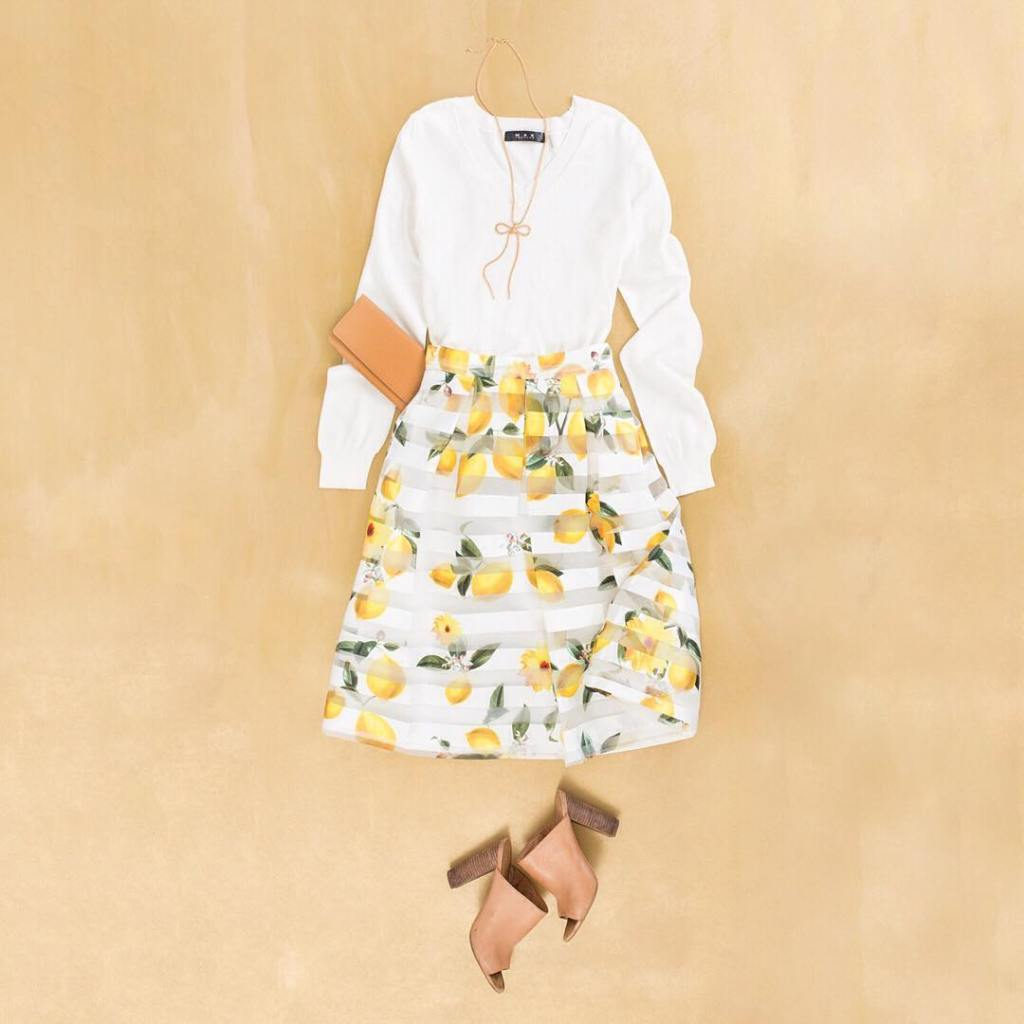 our favorite Piper Lemon Skirt on this gorgeous Sunday! hellip