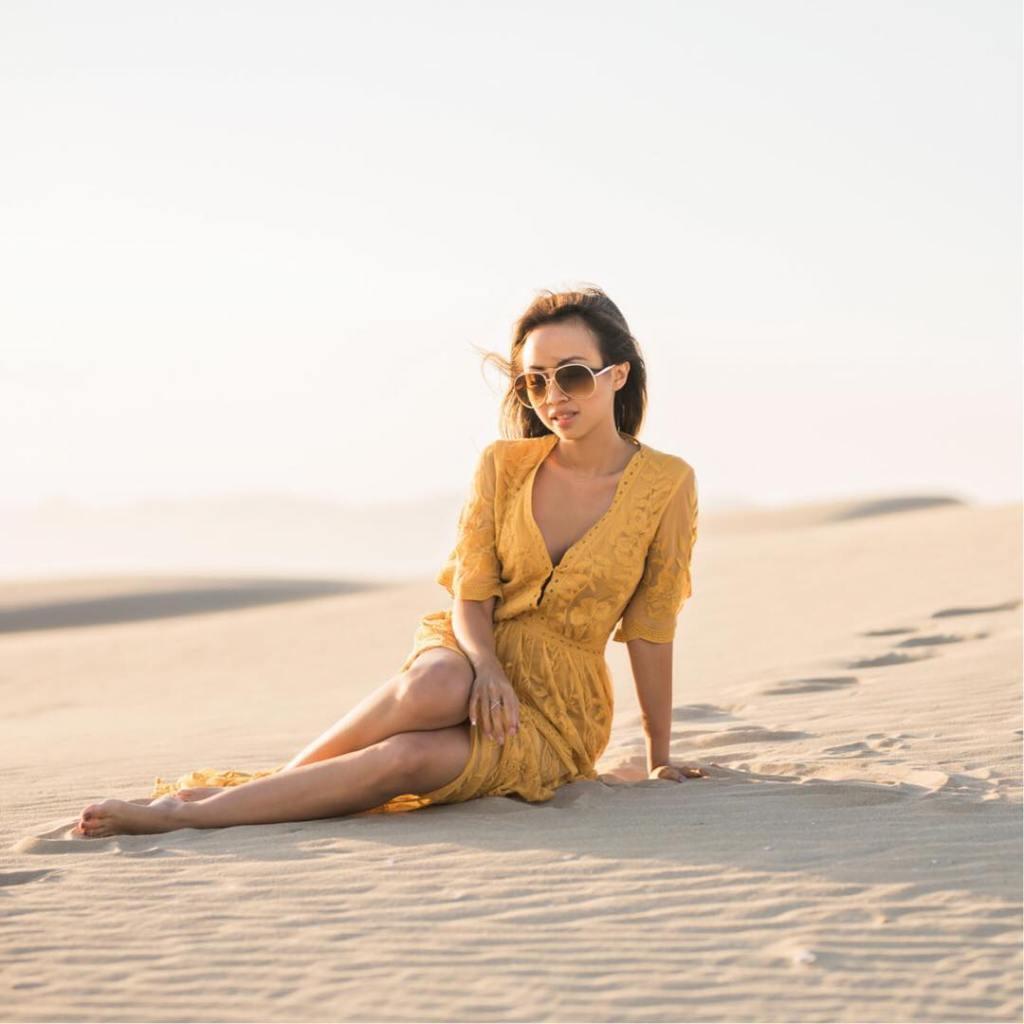 Desert beauty   Mila Marigold Lace Maxi Jumpsuit hellip