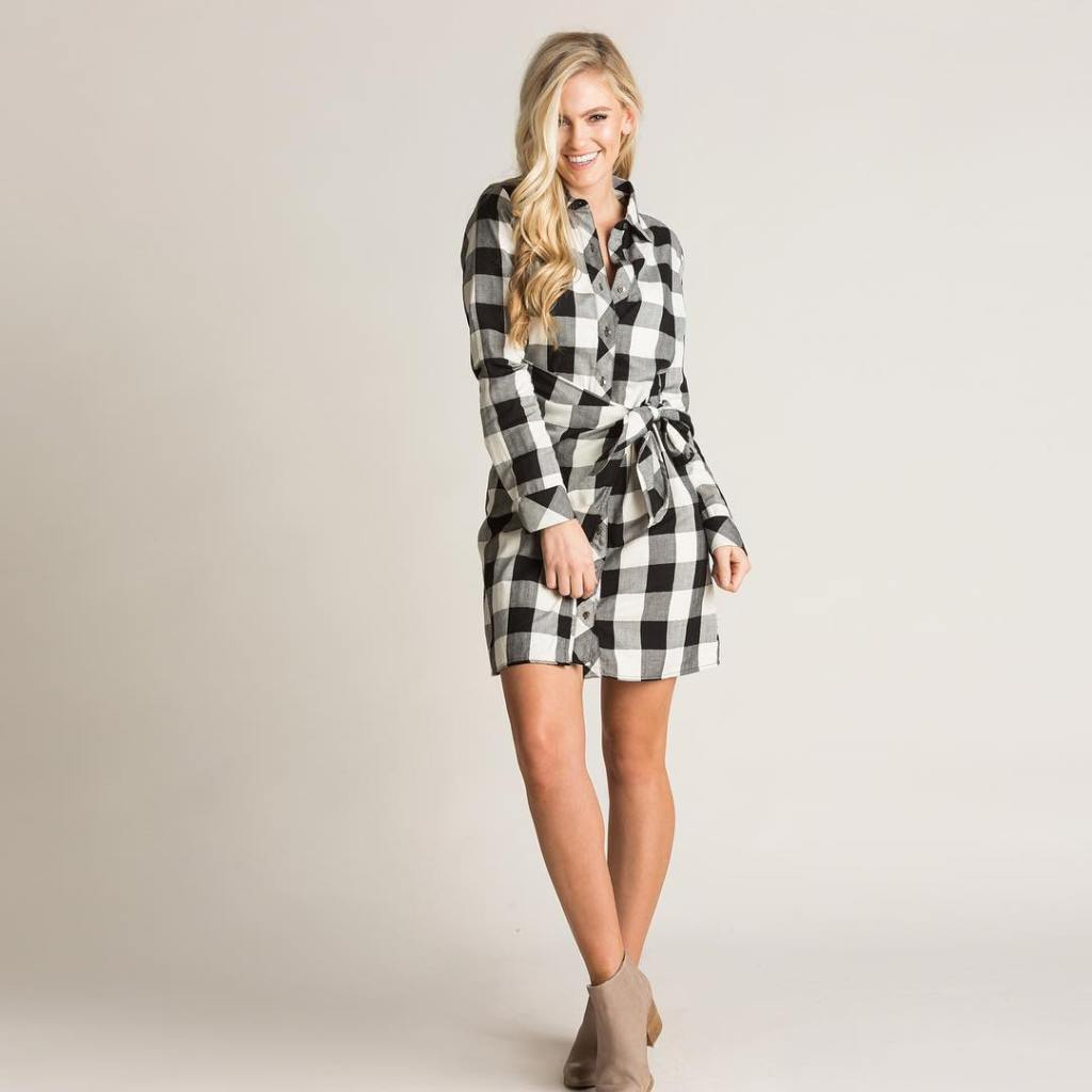 Tis the season to wear cute plaid!