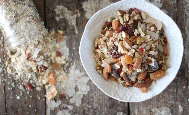 麥片有四種 Cereal、Granola、Muesli、Porridge
