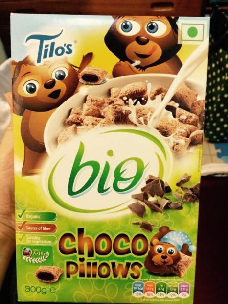 Tilo's 有機巧克力枕鼓類早餐
