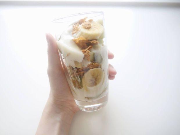 水果麥片優格杯