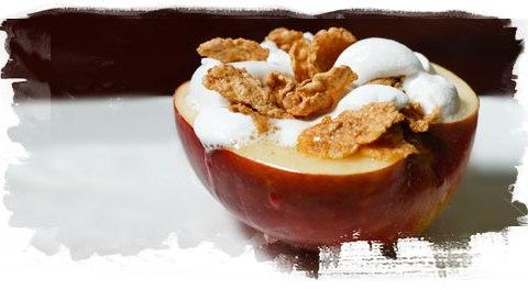 超懶人甜點食譜!蘋果聖代 plus Special K 完美融合