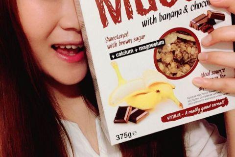 【 麥片女孩 Janet 】噢~我心中的絕配,相見恨晚的香蕉X巧克力