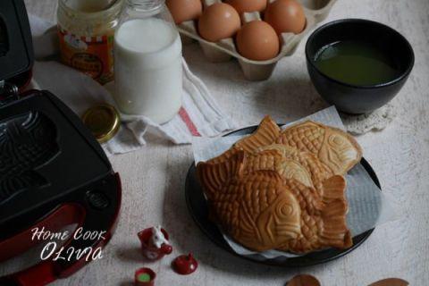 【 麥片食譜 】超可愛 ❤️ 花生鯛魚燒~一起來下廚做