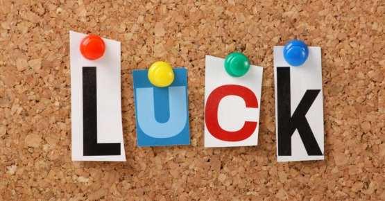 النجاح والحظ