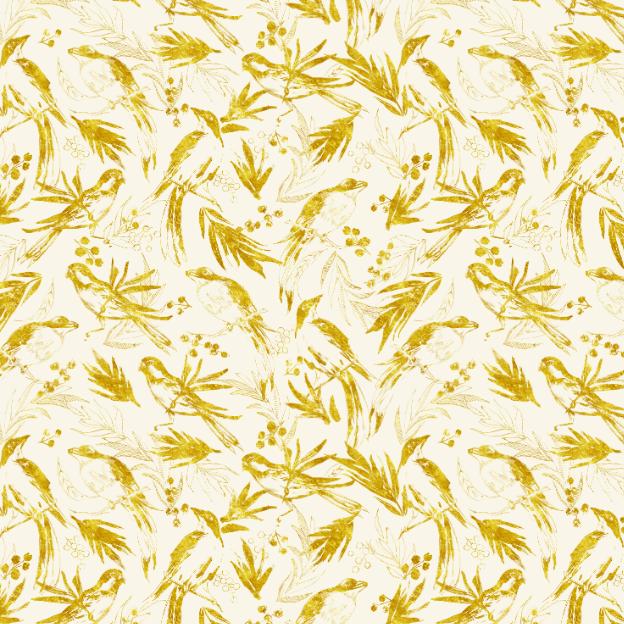 Illustrated birds pattern by MisterMoon