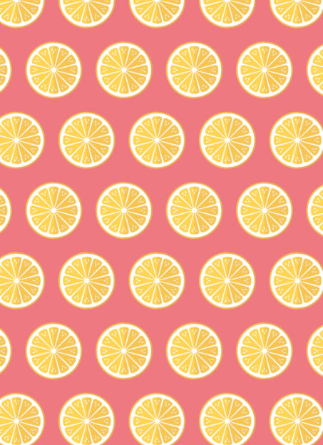 reneesillustrations-Lemons-on-pink