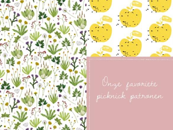 onze favoriete picknick patronen