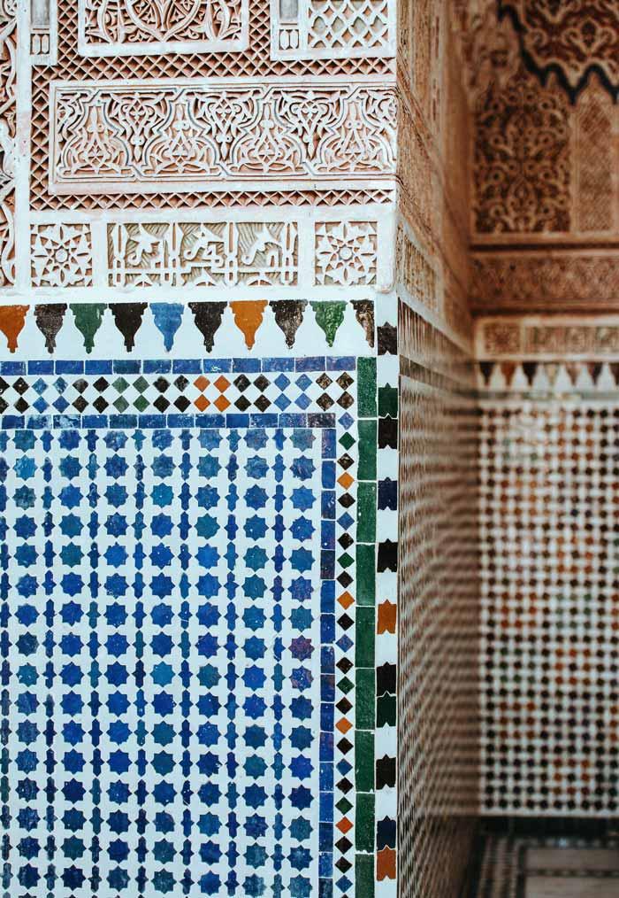 Mozaïek in Marrakech