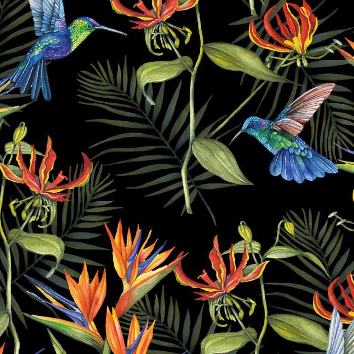 GeertjeBurgersDesign - vogel behang