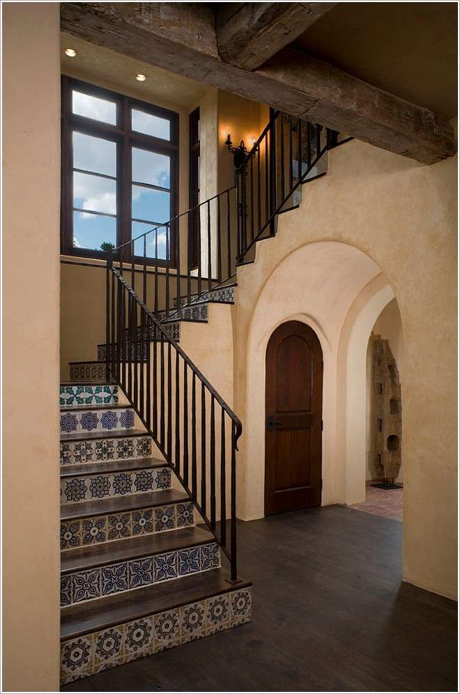 Most Beautiful Interior Mosaic Staircases Mozaico Blog