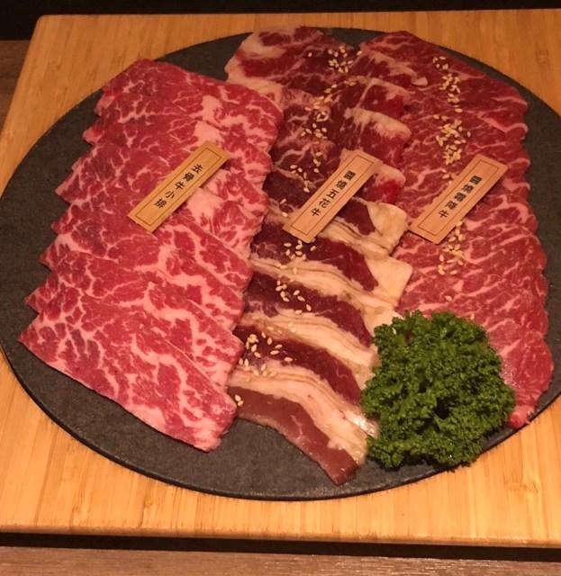 茶六燒肉堂朝富店 特選牛套餐