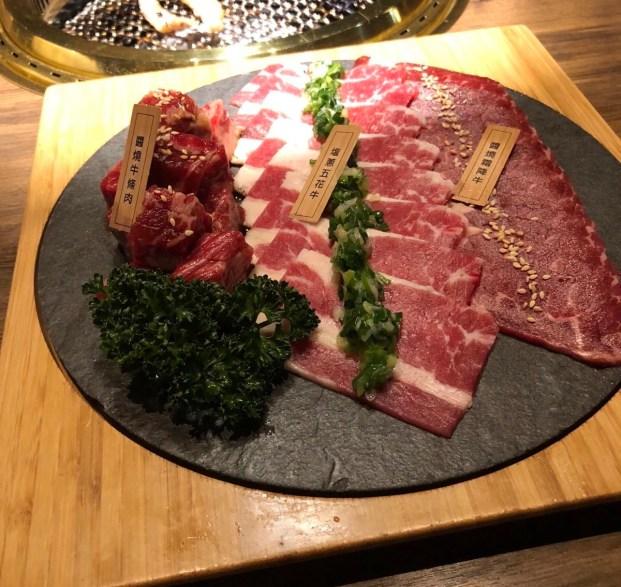 茶六燒肉堂朝富店 經典牛套餐
