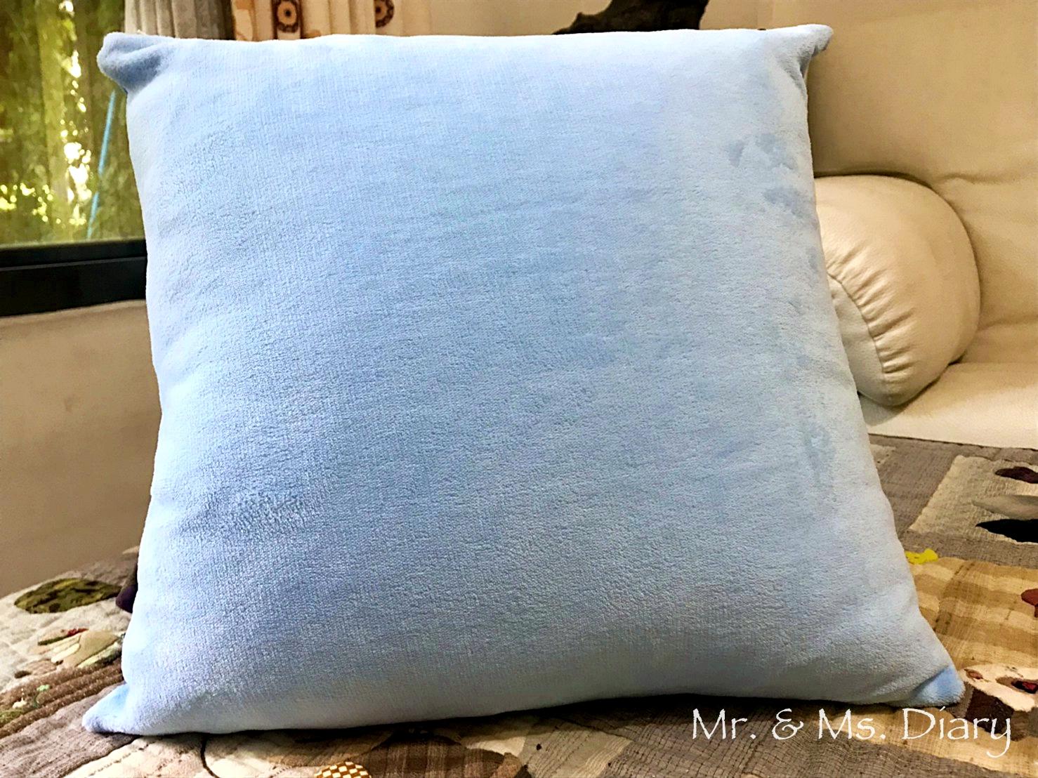 家居抱枕推薦!上品寢具繪見幾米抱枕系列,閉上眼睛一下下