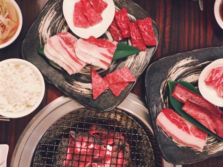 貴一郎健康燒肉,台南和牛燒肉推薦!平價和牛套餐,備長碳無煙烤肉