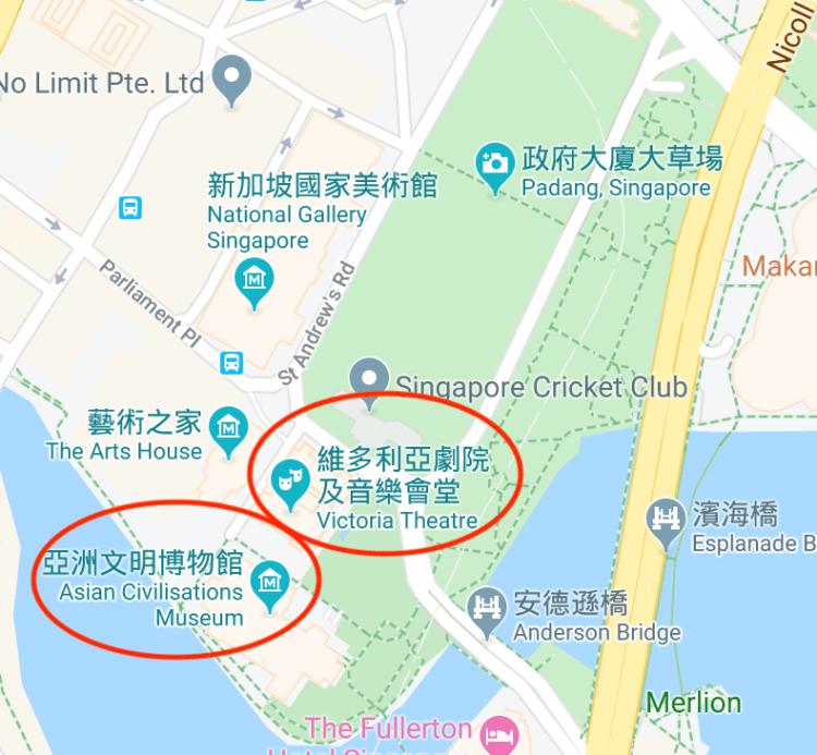 新加坡 City Hall 一日遊!國家美術館、聖安德烈座堂,日落到克拉碼頭看夜景 3