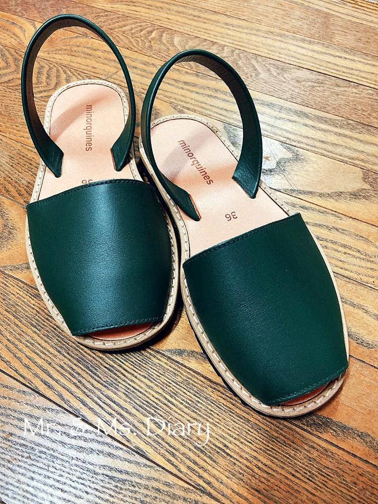 法國米諾津 MINORQUINES 經典系列,春夏最特別真皮涼鞋,輕便又實搭 6