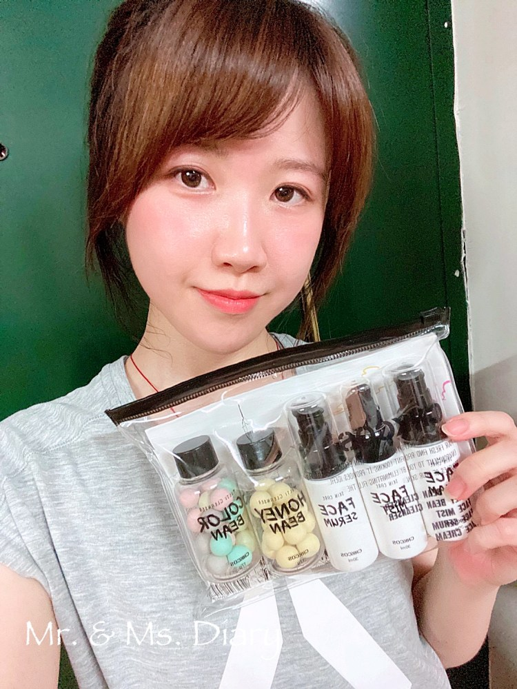 韓國超人氣CNKCOS芯蔻思淨化保濕旅行組,出門不用帶瓶瓶罐罐,超方便實用 6