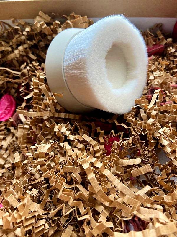 熊野筆 ROTUNDA 沐浴刷,日本職人手作洗澡刷推薦,超柔軟山羊毛+PBT混合纖維製,每次搓揉都像深層SPA按摩 6
