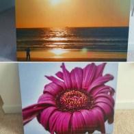 My Photos on a Canvas