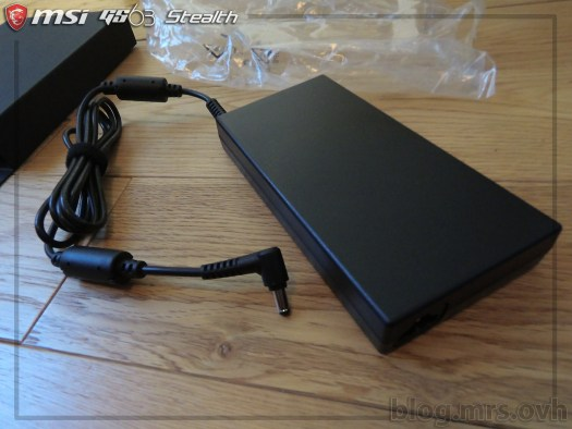 Chargeur du MSI GS63 7RD Stealth