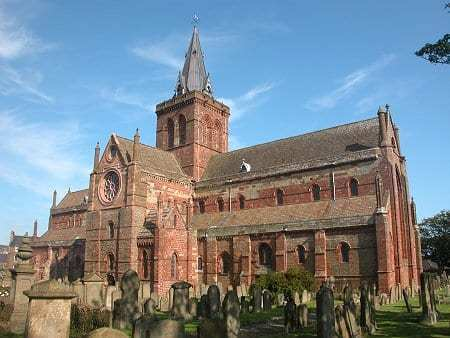 Cathédrale St Magnus à Kirkwall, Orkney