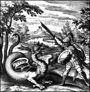 alchimiste et dragon